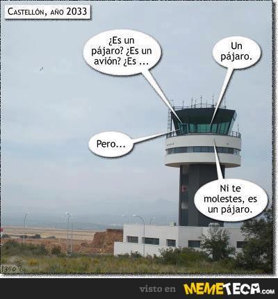 Aeropuerto de Castellón / memeteca.com